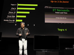Popular benchmark claims Tegra 4 is slower than both the iPad 4 and Nexus 10