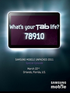 "Teaser for possible 8.9"" Galaxy Tab released by Samsung"