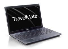 Acer launched the TravelMate 7750 and 4750 business laptops
