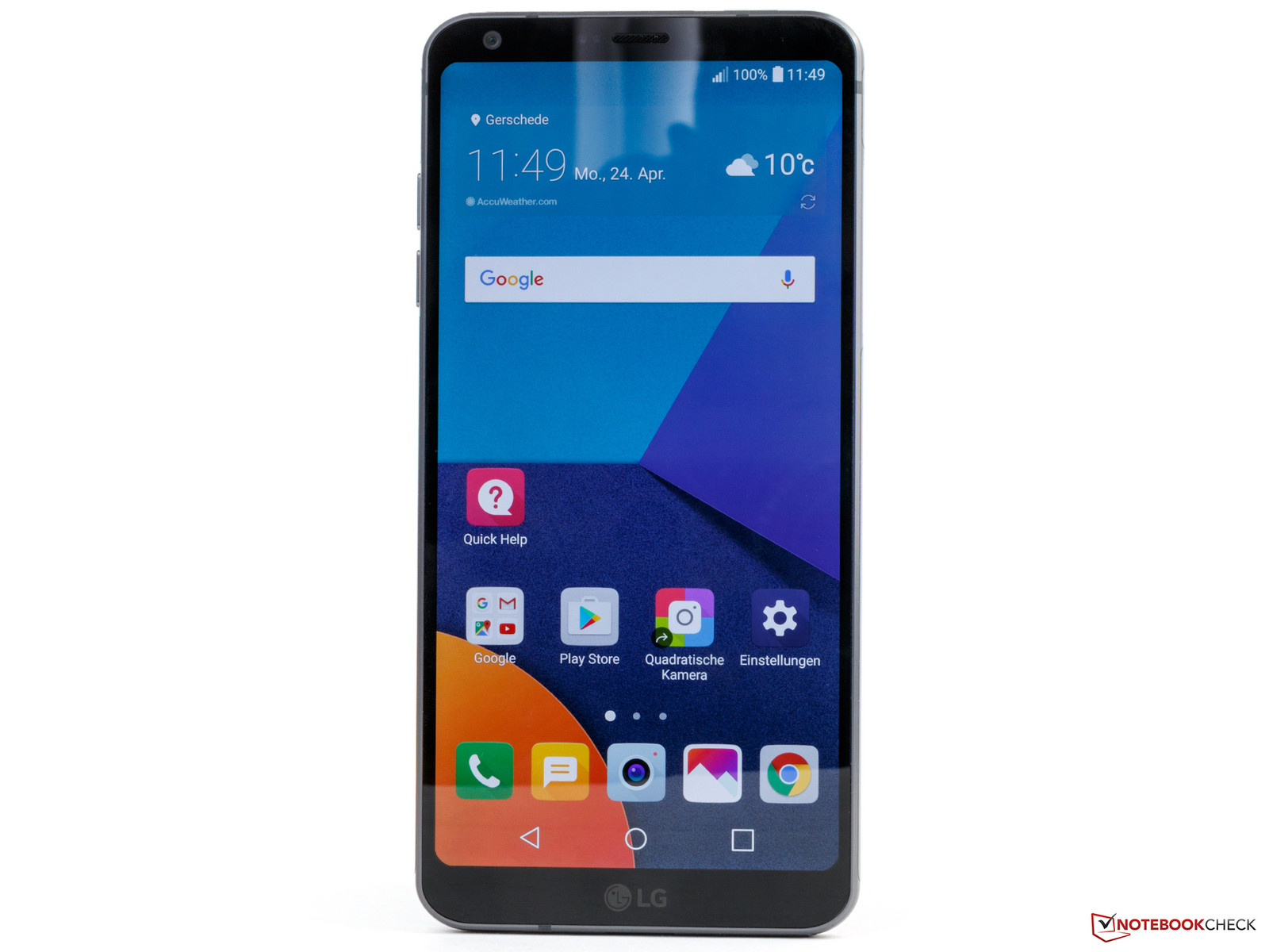 LG G6 - Notebookcheck net External Reviews