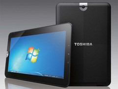 """Toshiba unveils 11.6"""" Win 7 tablet"""