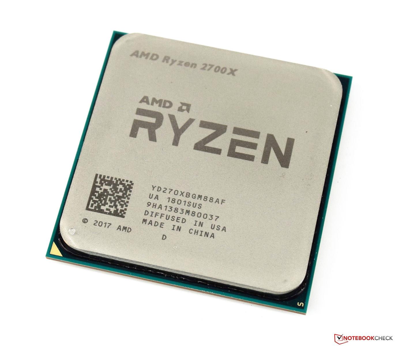 AMD Ryzen 7 2700X SoC - Benchmarks and Specs - NotebookCheck