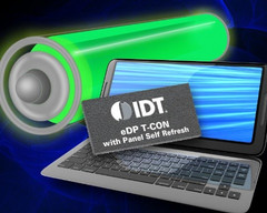 IDT showcases energy efficient self-refreshing notebook monitors