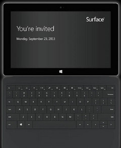 Microsoft Surface 2 and Surface Pro 2 to be announced on September 23
