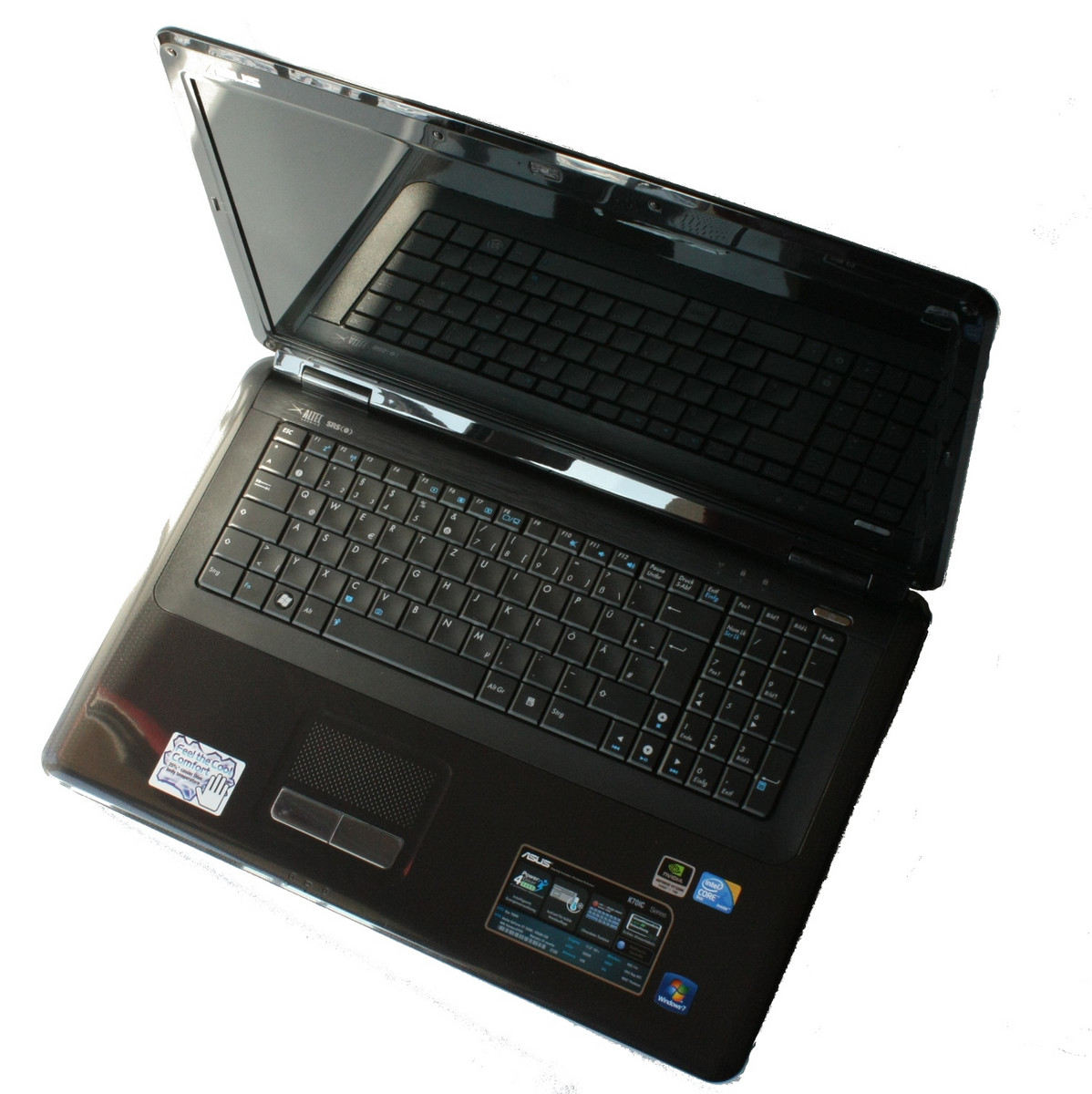 Asus K70AB Notebook Windows 7