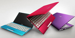 Asus reveals Eee PC Flare lineup of netbooks