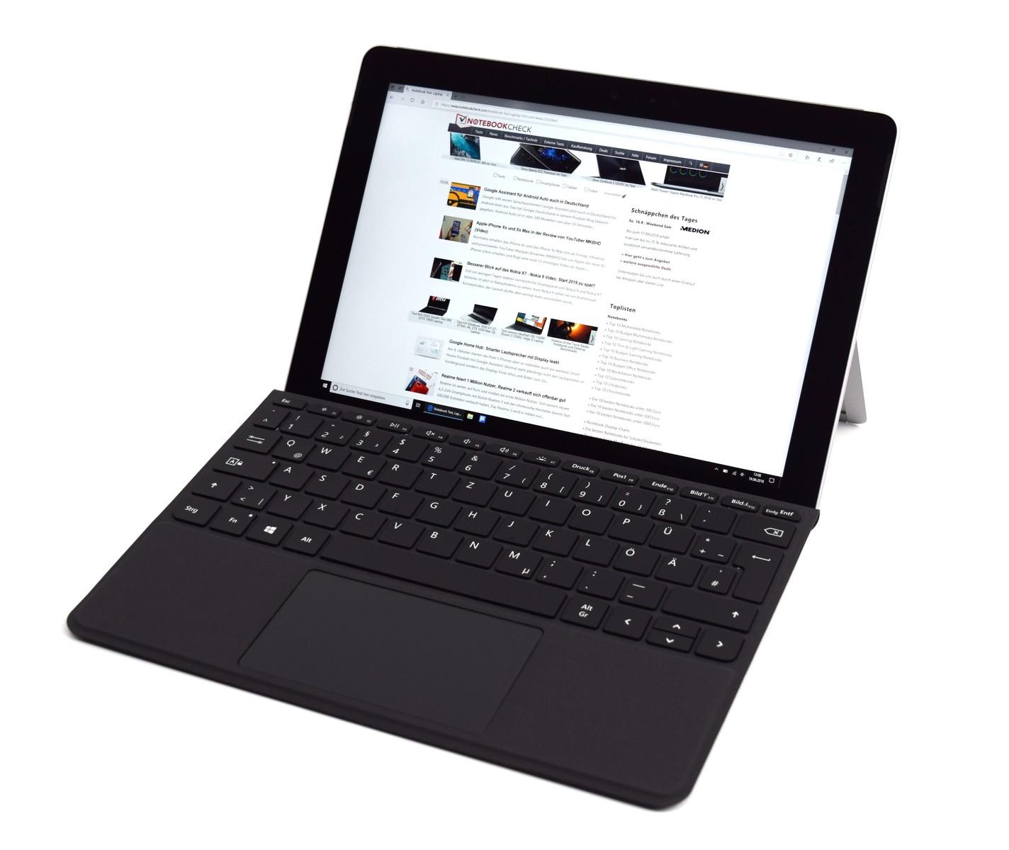 Microsoft Surface Go MHN-00003 - Notebookcheck net External