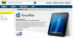 Best Buy only sold 9.3 percent of HP TouchPad stock, claims leak
