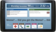 The Memo tablet is specifically aimed at the elderly