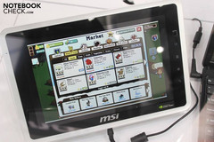MSI unveiled new information about the WindPad 100A in Germany