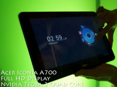 Acer Iconia Tab A700 with 1080p display hands-on video