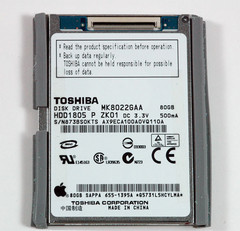 Toshiba brings out 220GB, 1.8-inch hard drive. Also available in 160GB and 200GB capacities