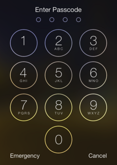 Security flaw discovered in iOS 7