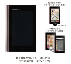 New Panasonic Raboo Tablet-cum-eBook reader set to launch in Japan