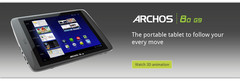 Archos  80 G9 Honeycomb Slate