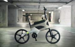 Peugeot's Concept Bicycle has a dedicated laptop compartment