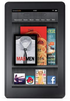 The Kindle Fire lacks parental controls, criticized