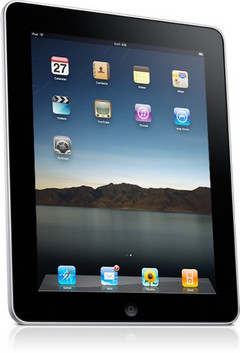 iPad 2 cases show up, a rear-facing camera, an SD card slot likely