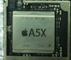 iPad 3 to be powered by A5X chip?