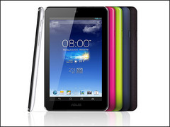 The MeMO Pad HD 7 comes in five different colours