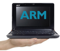 Acer: no ARM notebooks till 2012