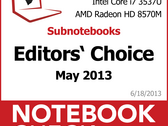 Notebookcheck's Best of May 2013 - Notebooks and Convertibles
