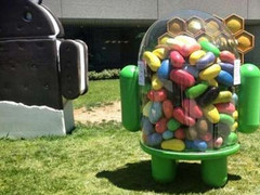 Jelly Beans arrived at Google's HQ