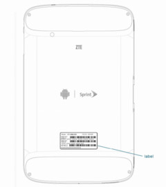ZTE V55 Android Honeycomb tablet hits FCC