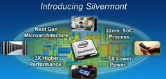 Intel announces low-power Silvermont architecture