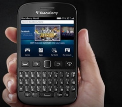The BlackBerry 9720 takes us a few years back