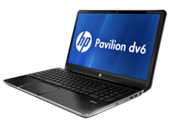 HP Pavilion dv6 now available with an AMD Trinity APU