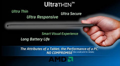 AMD's APU roadmap features Tablets and Ultrathins
