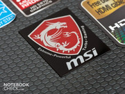 MSI's gaming series has its own logo.