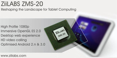 ZiiLabs unveils dual-core ZMS-20 and quad-core ZMS-40 for tablets