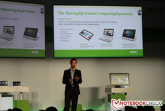 Acer conference Wrap-up: Two Tablets and Two Ultrabooks heading our way