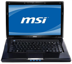 MSI announces new CR460 Sandy Bridge notebook