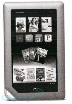 Barnes and Nobles Nook tablet coming this 16th