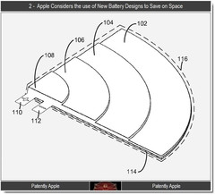 Apple patents special battery design for ultrathins