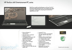 The all new HP DV8 Core i7 powered notebook