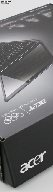 Acer Aspire TimelineX 3820TG: Packaging