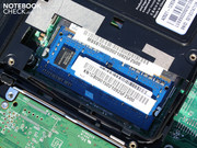 DDR3 RAM - unusual for a netbook.