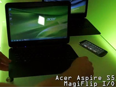 Acer Aspire S5 Ultrabook with MagicFlip I/O hands-on video