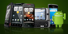 Android smartphones dominate the market with over 80 percent