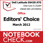 Award Dell Latitude E6420 ATG