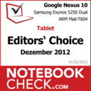 Award Google Nexus 10