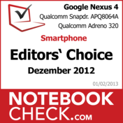 Award Google Nexus 4