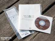 There is a recovery DVD included in the scope of delivery.