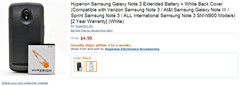 Galaxy Note 3 accessories already available