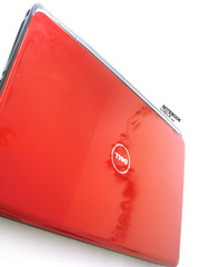 The Dell Inspiron 17R in Tomato Red...