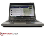 The ProBook 6470b features a matte 14 inch screen with HD ready resolution